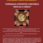 Invitatie Expozitie Arta de a darui - ACSIS